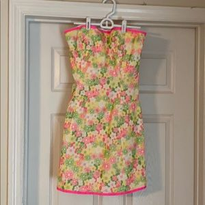 Float all strapless Lilly Pulitzer dress